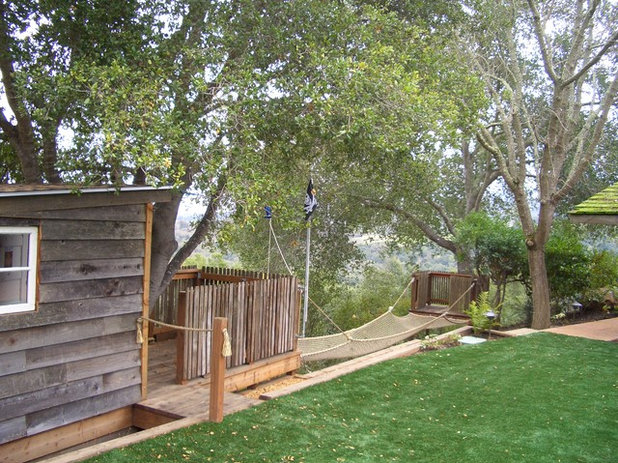 Rustic Landscape by Keith Willig Landscape Services, Inc.