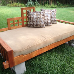 Christianson Ranch swings and swing bed project. -