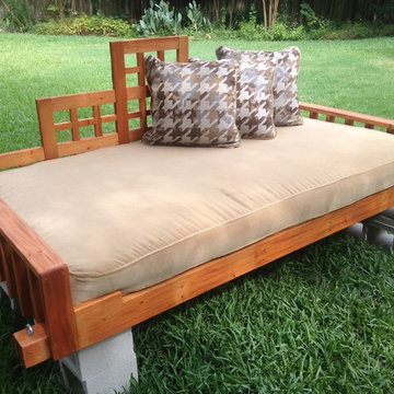 Christianson Ranch swings and swing bed project.