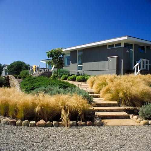 Beach Grass Landscape Design Ideas Remodels Photos