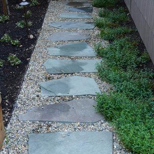 Aménagement d'un jardin craftsman.