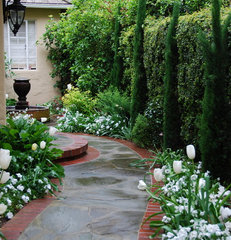traditional landscape by Verdance Fine Garden Design