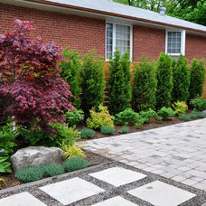 Traditional Landscape by Home Garden Solutions