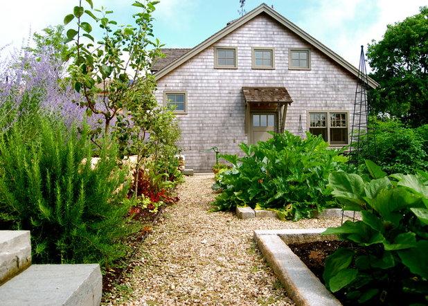 Farmhouse Landscape by The Garden Design Company