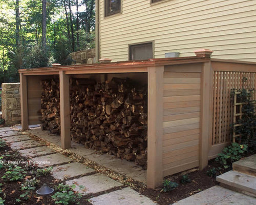 Outdoor Firewood Storage Home Design Ideas, Pictures, Remodel and ...
