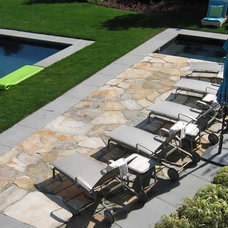 Traditional Pool by Clinton & Associates, PC Landscape Architects