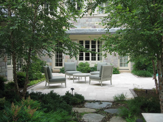 Traditional Landscape by Clinton & Associates, PC Landscape Architects