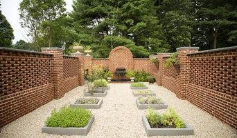 Cloister herb garden