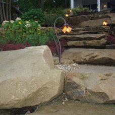 Tropical Landscape by Greensource design/build - Bob Oster designs