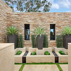 Contemporary Landscape by Studio 6 Architects