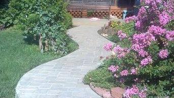Cobblestone ramp & Walkway