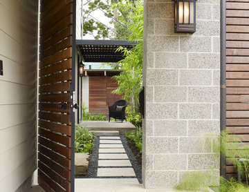 Cohen Residence Entry Path