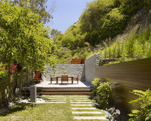 Wood Retaining Wall Home Design Ideas Pictures Remodel