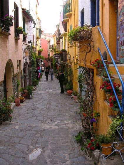 Mediterranean Landscape Collioure France Trip