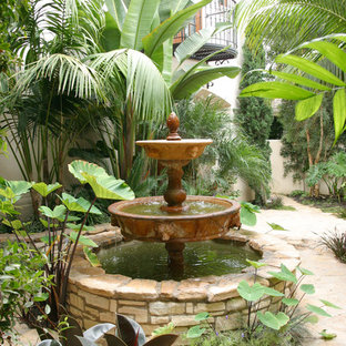 Inspiration for a mediterranean landscaping in Orange County.