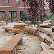 Contemporary Landscape Colorado State University's Academic Village