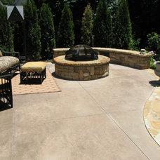 Traditional Patio by Botanica Atlanta   Landscape Design-Build-Maintain