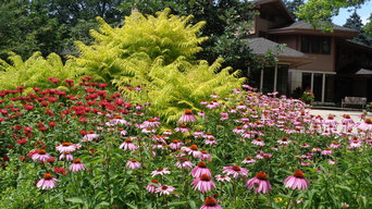 Colorful Eclectic Garden