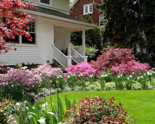 Chicago North Facing Garden Design Ideas Renovations Photos
