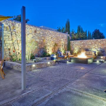 Complete Contemporary Outdoor Living West El Paso
