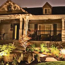 Traditional Landscape by Fine Design Living
