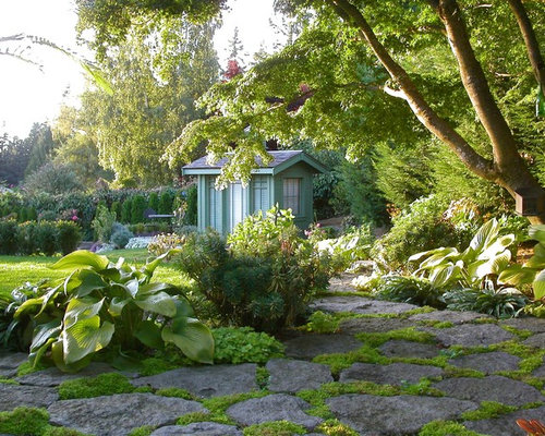 Pacific Northwest Landscaping Home Design Ideas Pictures