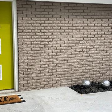 Concrete Design for a Courtyard