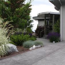 Traditional Landscape by SMC Construction Services