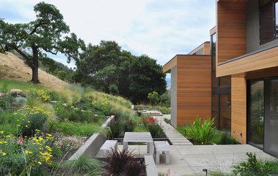 Focus Matière : Le béton s'invite dans le jardin
