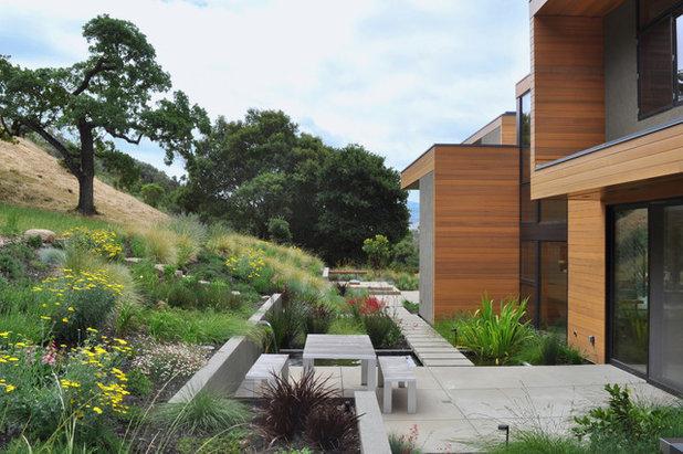 Trädgård trädgård betong : Betong i den moderna trädgÃ¥rden