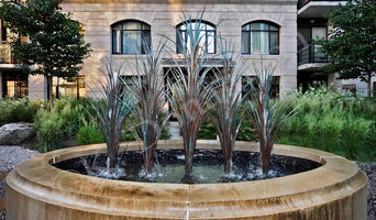 Condo Terrace Water Feature