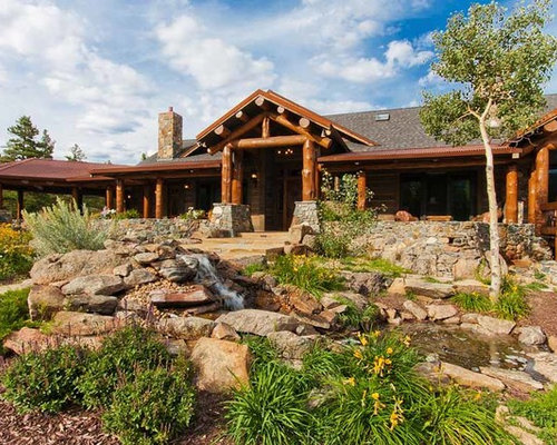 Colorado mountain home landscape ideas designs remodels for Mountain home designs colorado