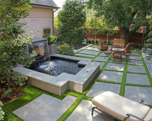 how to cut grass between pavers