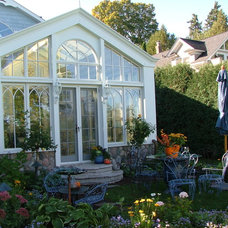 Eclectic Landscape by Conservatory Craftsmen