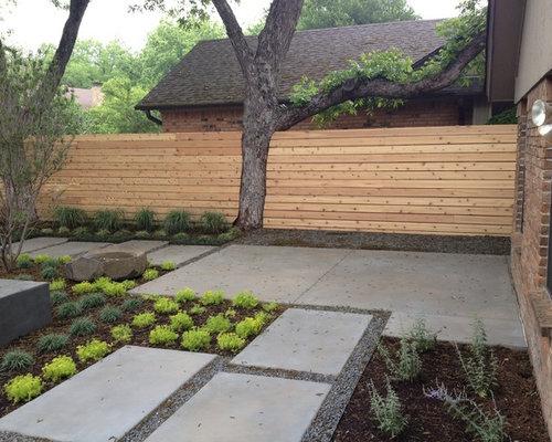 contemporary backyard houzz