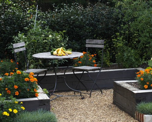 Raised Flower Bed Home Design Ideas Pictures Remodel And Decor