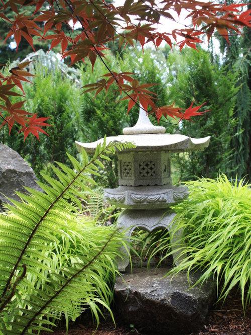 Jardin asiatique avec un paillis photos et id es d co de jardins - Jardin asiatique ...