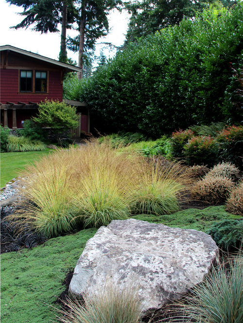Craftsman landscape ideas designs remodels photos for Verdance landscape design