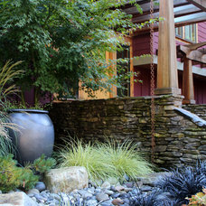 Craftsman Landscape by Bliss Garden Design