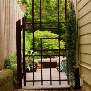 Inspiration for an asian garden in Atlanta.