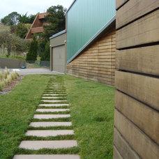 Contemporary Landscape by Integrated Design Studio, Inc.