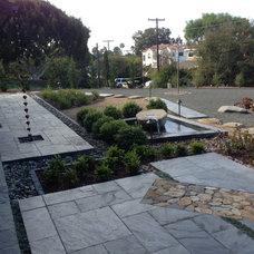Contemporary Landscape by Modern Zen Garden