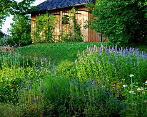 Backyard Flower Garden Designs Houzz