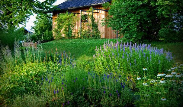 Contemporary landscape contemporary landscape for Rural garden designs