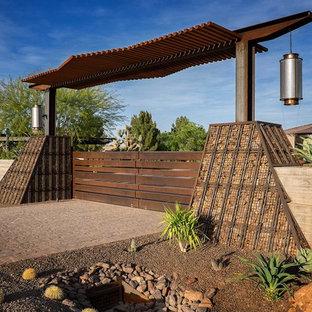Modelo de jardín de secano contemporáneo