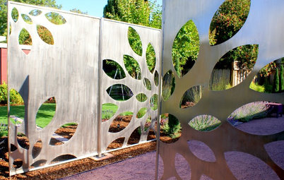 Polish Your Garden's Look With Metal