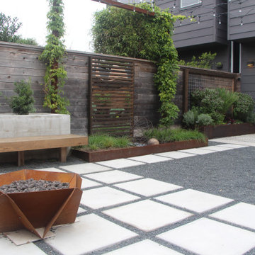 Contemporary Outdoor Rooms for Entertaining
