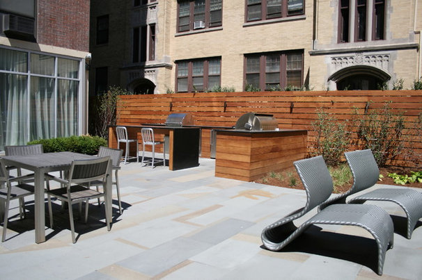 Contemporary Landscape by Chicago Roof Deck & Garden