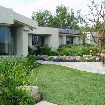 Contemporary Rancho Santa Fe Landscape - Xeriscape