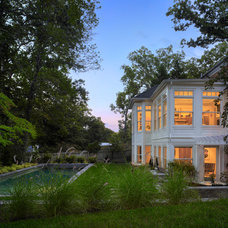 Traditional Landscape by Barnes Vanze Architects, Inc
